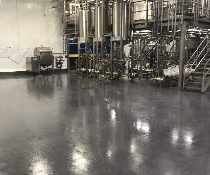 Epoxy Flooring for Food Manufacturers