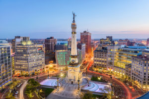 The Soldiers/Sailors monument in Indianapolis. Call Progressive Painting & Coating for the best epoxy flooring contractors Indianapolis has to offer.